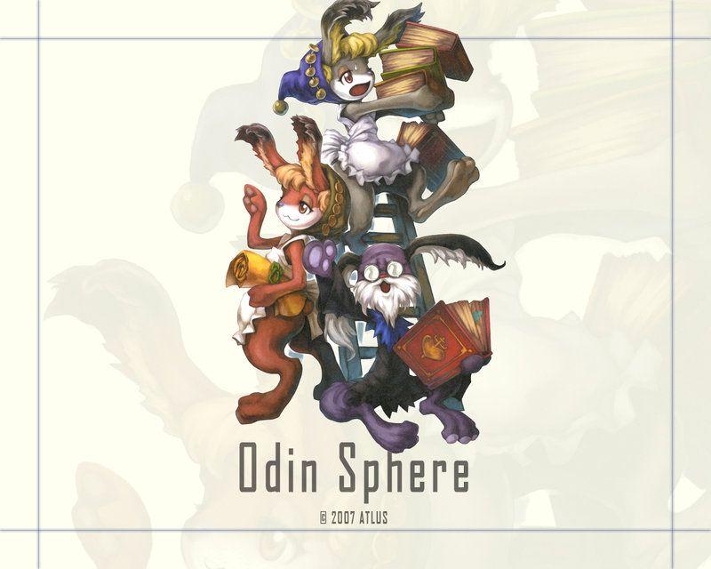 Odin Sphere Pooka Wallpaper by felineguardian