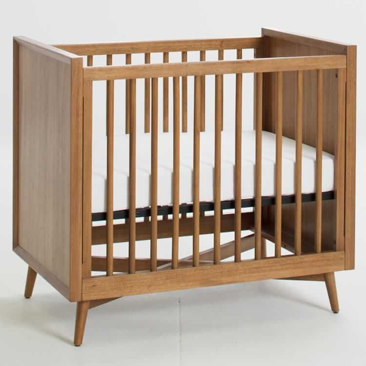 Mid Century Mini Crib Acorn Mini Crib Crib Mattress Cribs
