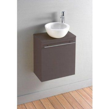 Pack Meuble Lave Mains Florence Taupe Design Amazon Fr Cuisine Maison Lave Main Meuble Lave Main Lave Main Wc