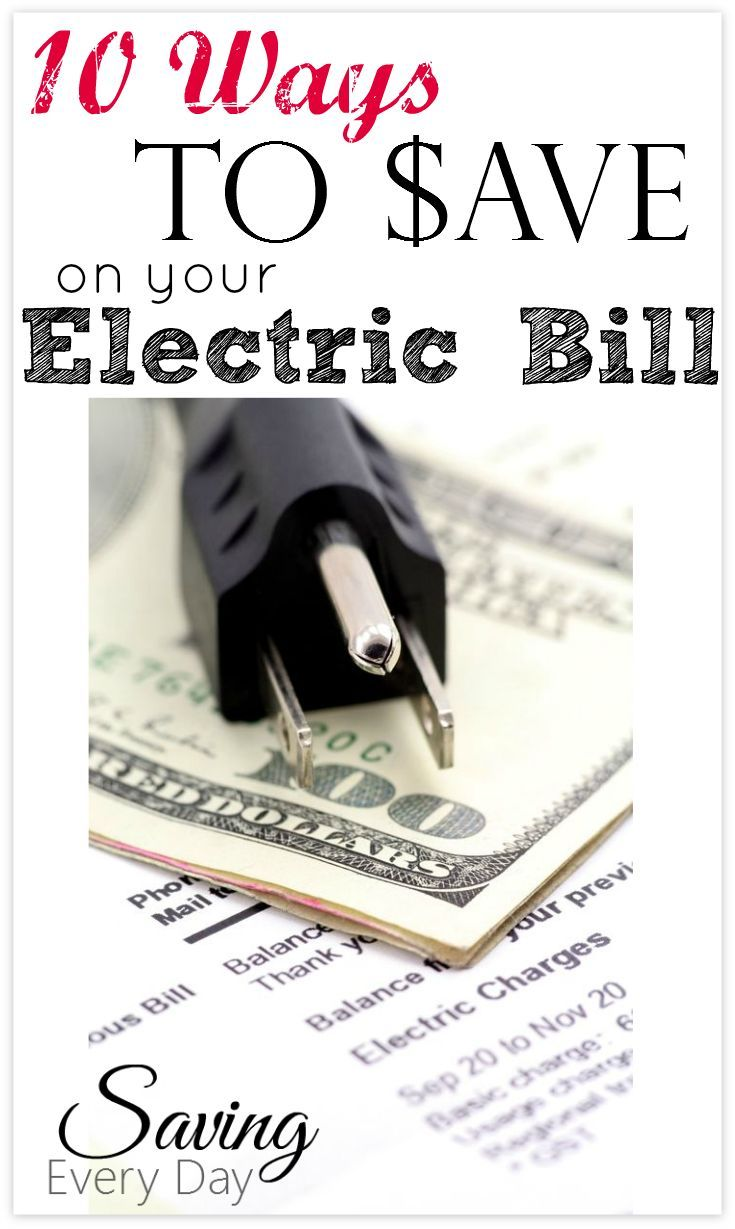 Have you ever received an electric bill that was a lot more than you expected? It can happen to anyone, no matter how diligent you are at turning off the lights. Here are a few ways to save energy and help avoid those high electric bills!