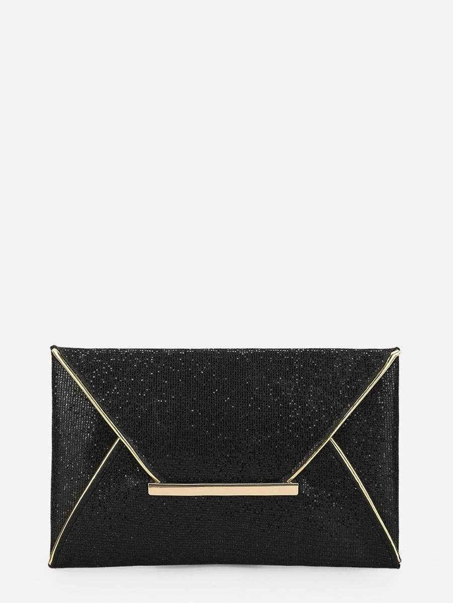 1cdec9bac92b Composition  Glitter Color  Black Bag Size  Medium Bag Length (cm)  28 cm  Bag Width (cm)  1 cm Bag Height (cm)  18 cm Style  Party Magnetic  Yes