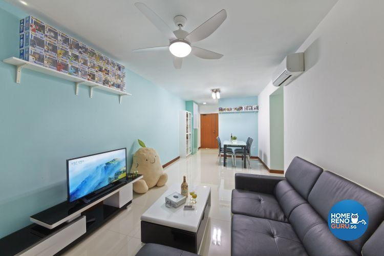Singapore Interior Design Gallery Design Details  Interior Design Unique Hdb 4 Room Living Room Design Inspiration