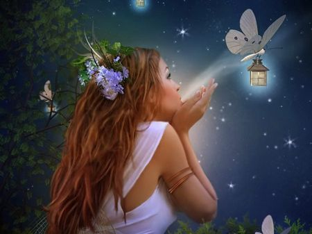 Lucid Butterfly Fairy Wallpaper Fairy Background Fairy Images