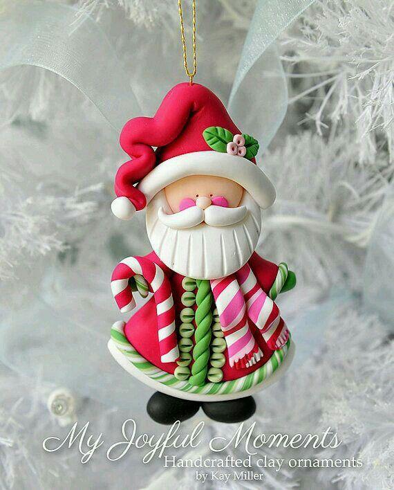 Pin By Olgalidia Anguiano On Holidays Clay Ornaments Polymer Clay