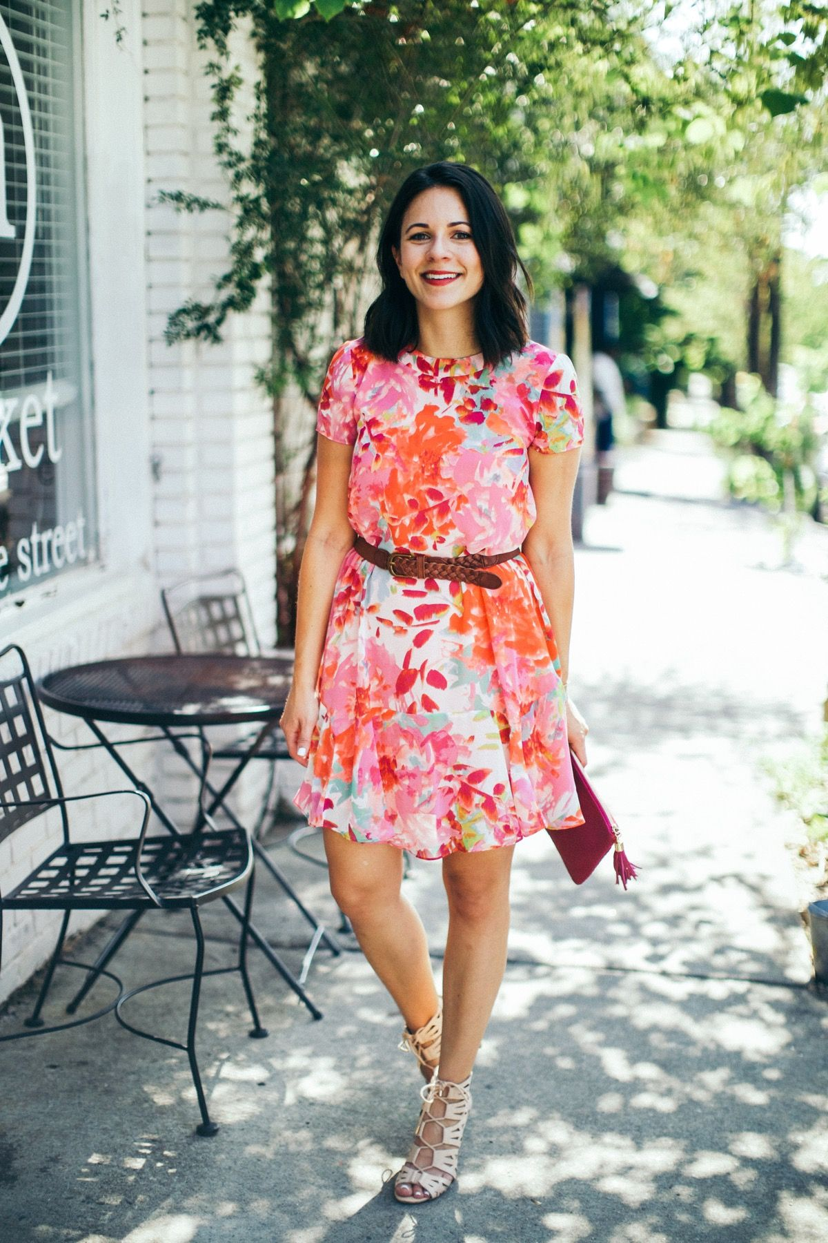Dressy Outfit Ideas For Summer Dressy Outfits Floral Dress Outfits Summer Dress Outfits [ 1800 x 1200 Pixel ]
