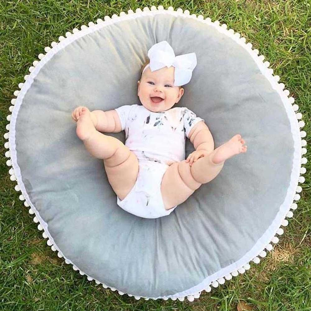 Baby Infant Cotton Creeping Mat Playmat Blanket Play Game Mat Room Decoration