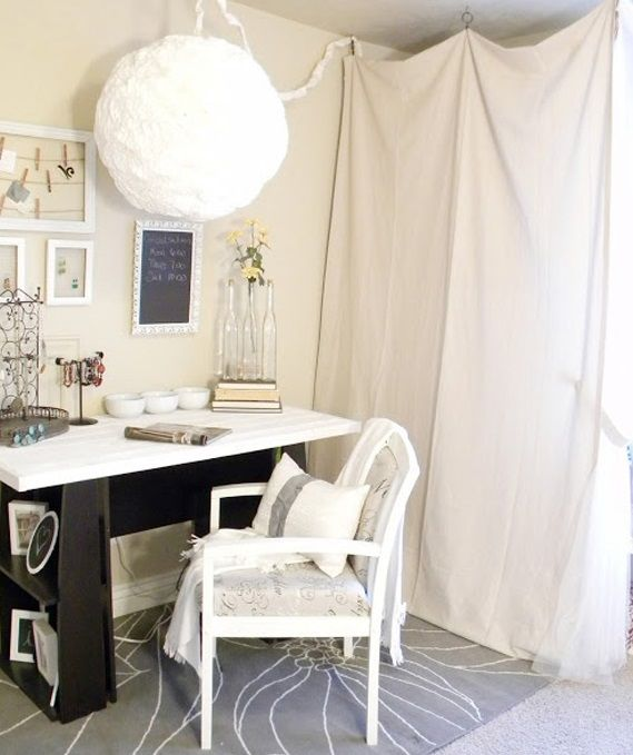 Diy Working Desk Design For Your Home Office White Desk Top With Bookshelf  Sides