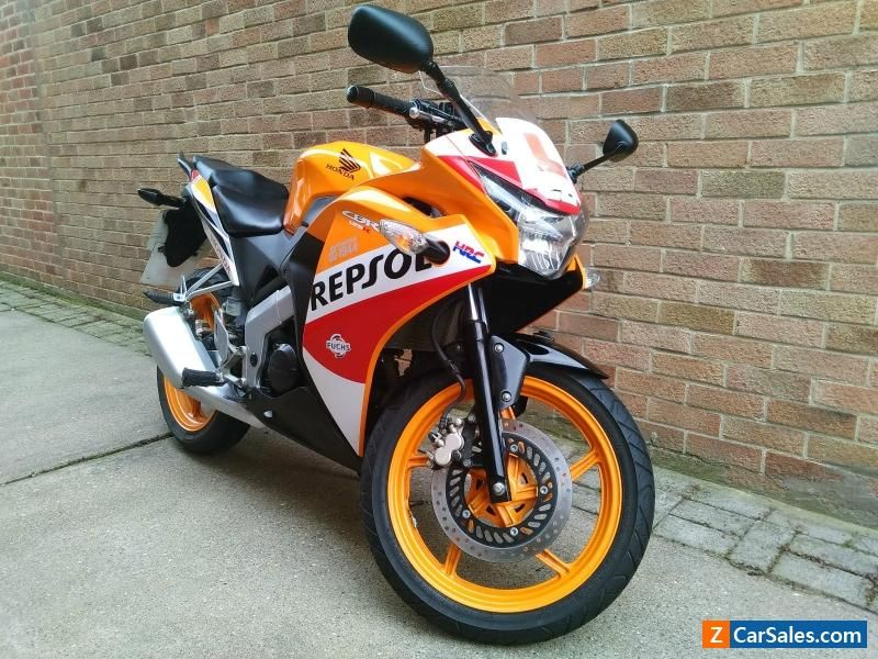 honda cbr 125r repsol 65 reg lady owner honda cbr. Black Bedroom Furniture Sets. Home Design Ideas