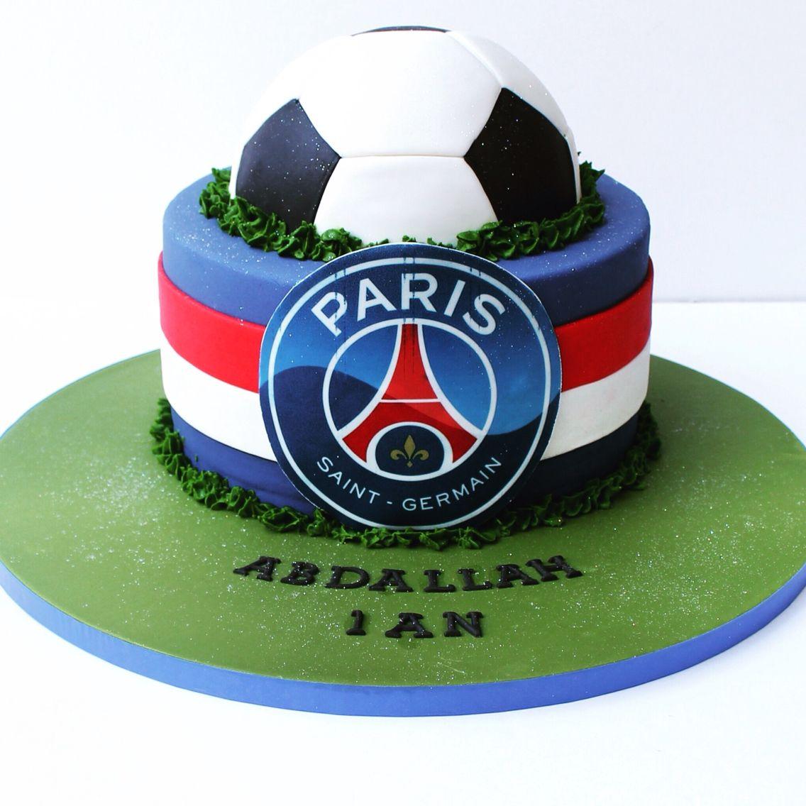 Psg Cake Gateau Anniversaire Paris Gateau Anniversaire Gateau Anniversaire Football