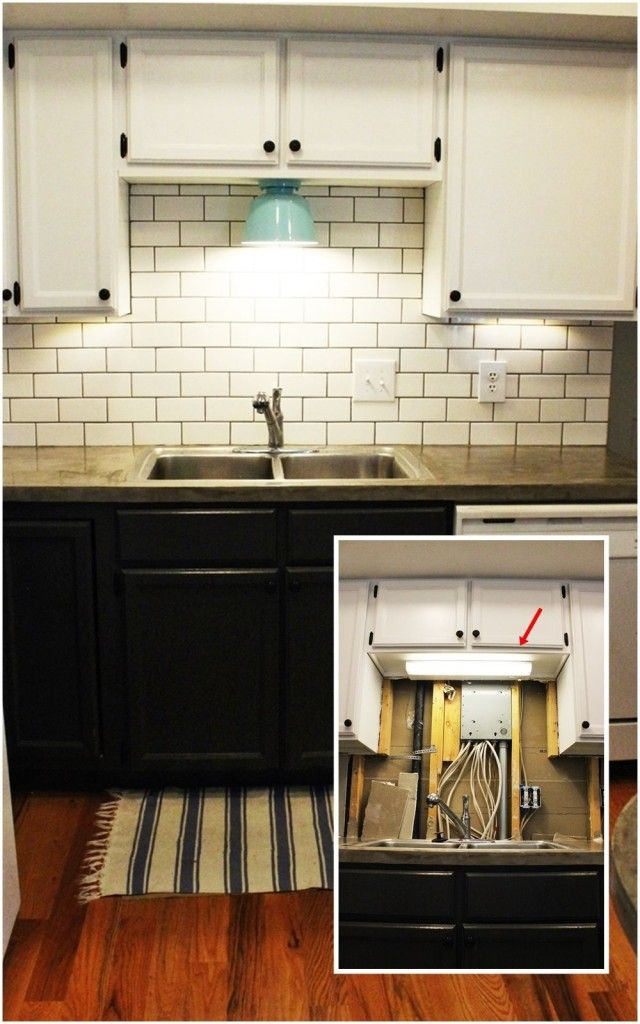 Diy Kitchen Lighting Upgrade Led Under Cabinet Lights And Above The