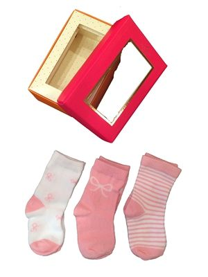 Kate Spade Baby Girls Sock Gift Set 3 Pack