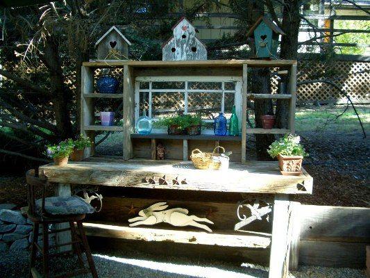 Barbara\u0027s hand-crafted gardenBarbara is proud of her handcrafted