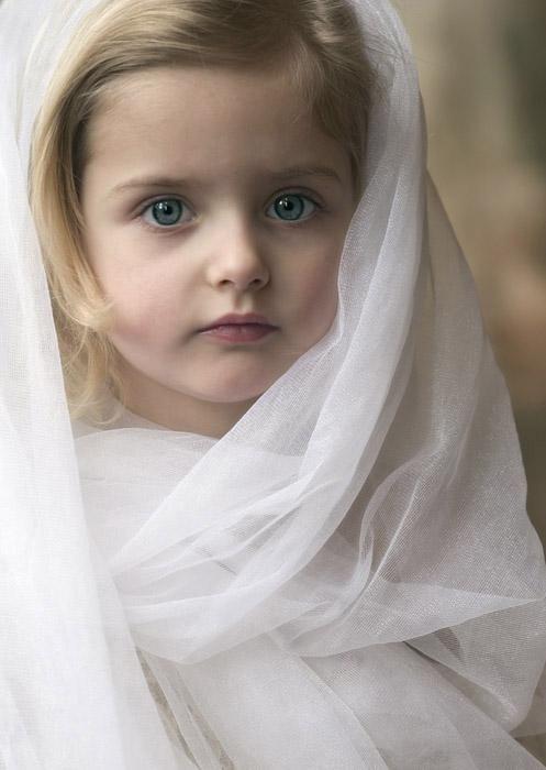 Cutest Baby Girl With Green Eyes Bayi Lucu Fotografi