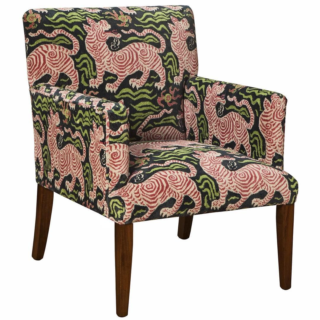 Exceptional The U0027wardouru0027 #chair By @davidseyfried Upholstered In U0027Tibet Small Scaleu0027