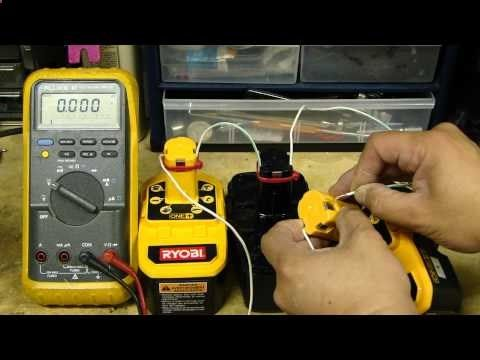 Part1 How To Revive Rejuvenate Fix A Bad Rechargeable Nicd Battery For Cordless Drill Youtube Ryobi Battery Cordless Drill Battery Repair