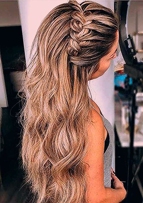 Photo of 16.Einfach geflochtene Frisuren für langes Haar – Festliche frisuren anleitung