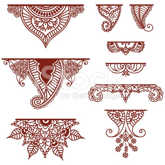 A collection of decorative ornaments - featuring lots of paisley ...