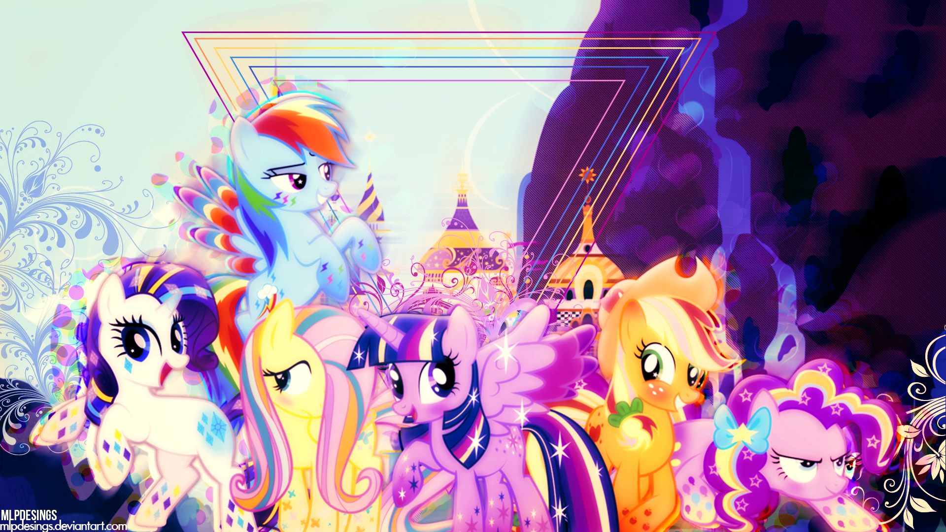 View Download Comment And Rate This 1920x1080 My Little Pony