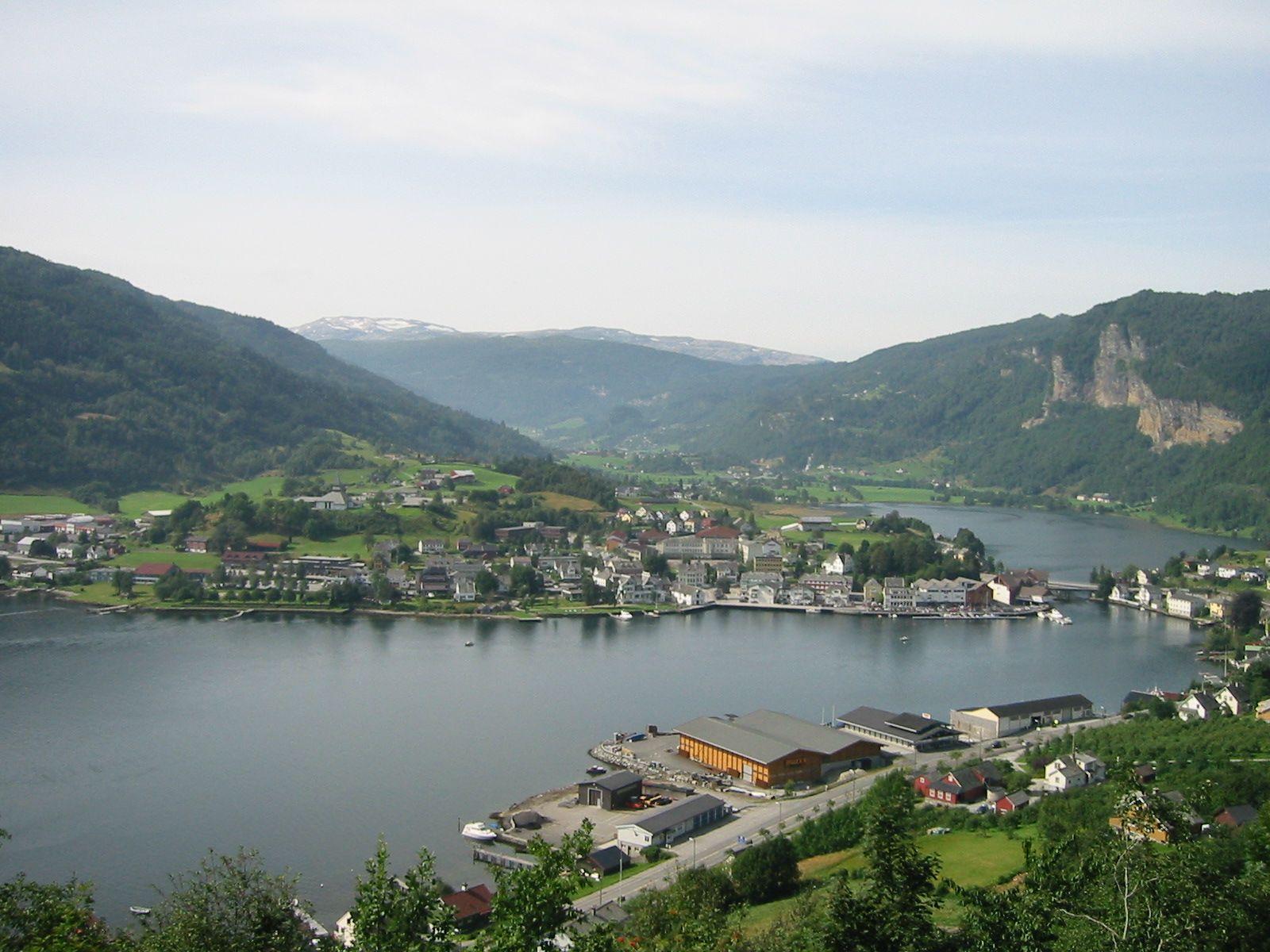 Norheimsund , small town in Norway