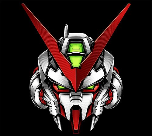 Gundam Astray Red Frame Vector Art (With images) Astray