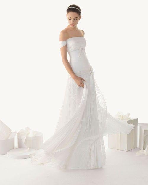Silky Flowing Wedding Dresses 2013