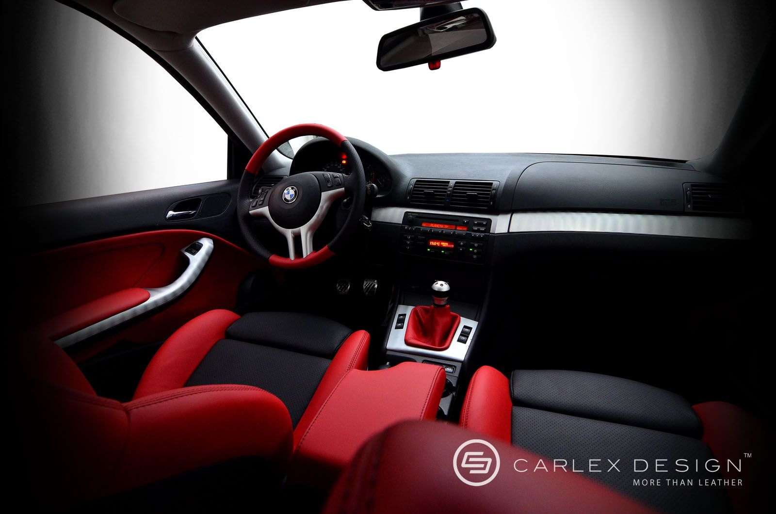 Bmw E46 Silver 3 Series Custom Interior Red And Black And Grey