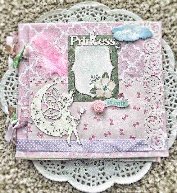 Personalised Albums Premade Scrapbook Album Baby Scrapbook Baby