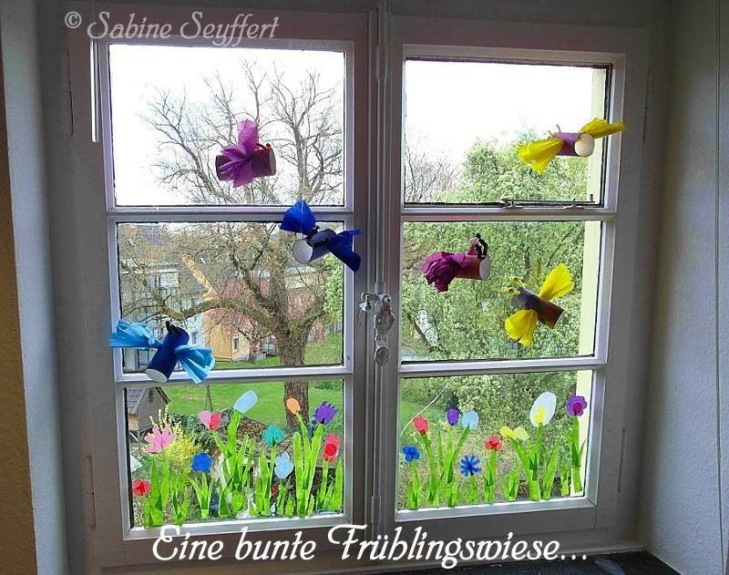 Best DIY Bastelidee Mit Kindern basteln f rs Kinderzimmer Fensterdeko aus Transparentpapier