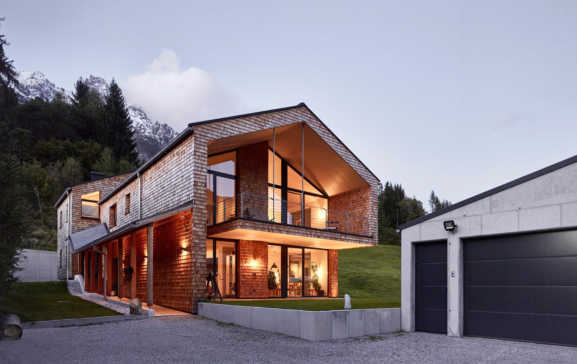 Doppelwohnhaus holzhaus modern was wir bauen - Holzhaus architektur ...