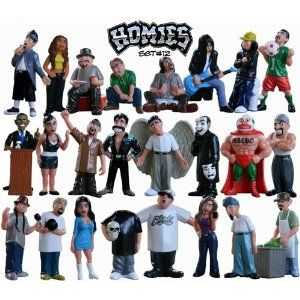 "Homies 12 PACO Homie Figurine Figure NEW 2/"""