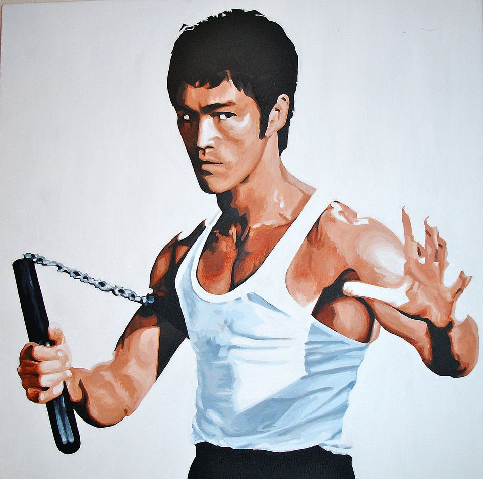 Bruce Lee Caricature Dunway Enterprises Http Www Learn To