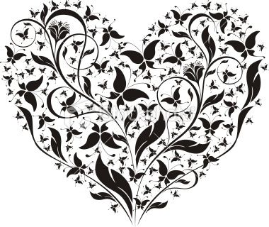 Heart Shaped Butterfly Tattoo Heart Shaped Tattoo With