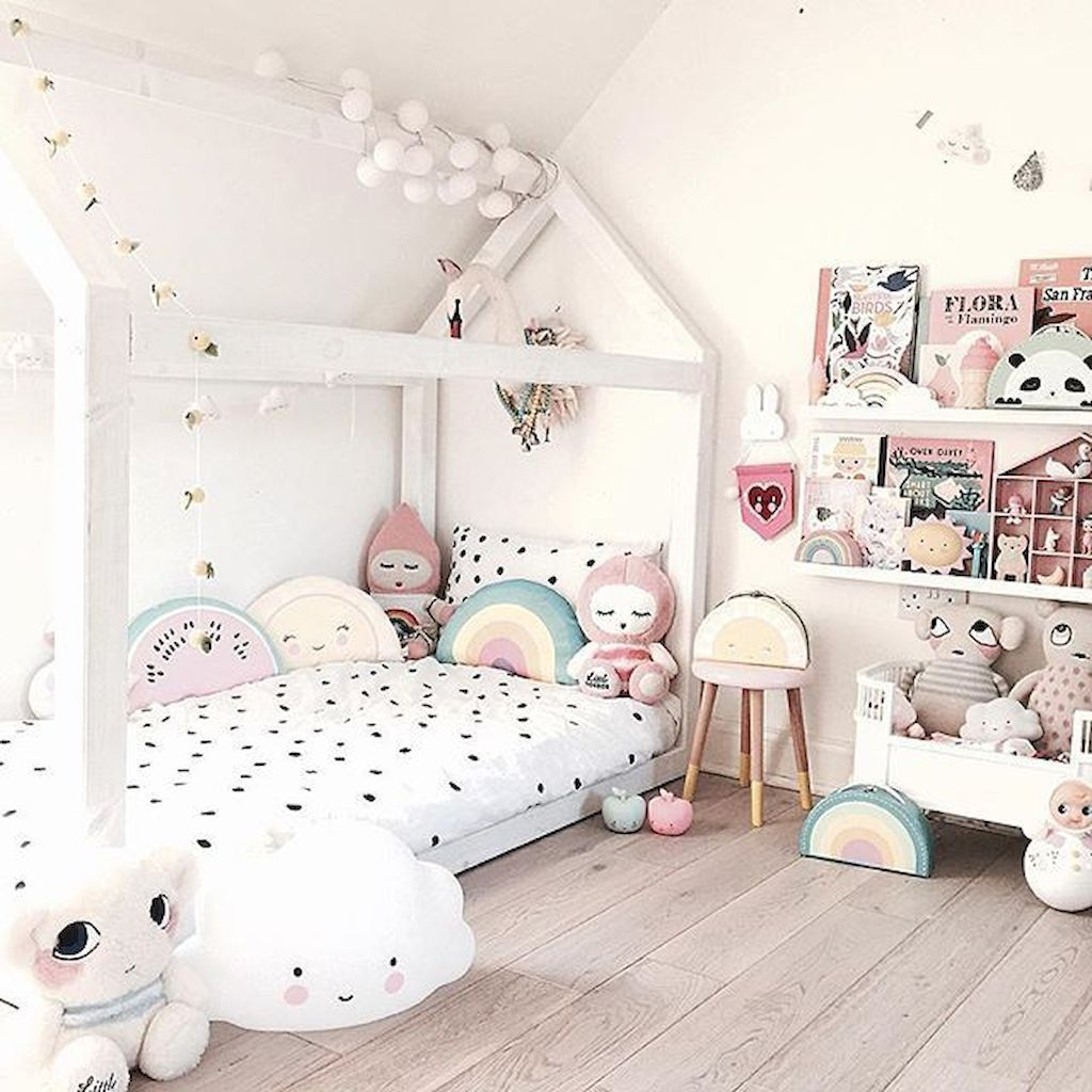 Nice Cute Black And White Children S Bedroom Ideas Https Carribeanpic Com Cute Black And White Childrens Bedroom I Toddler Rooms Girl Room Childrens Bedrooms