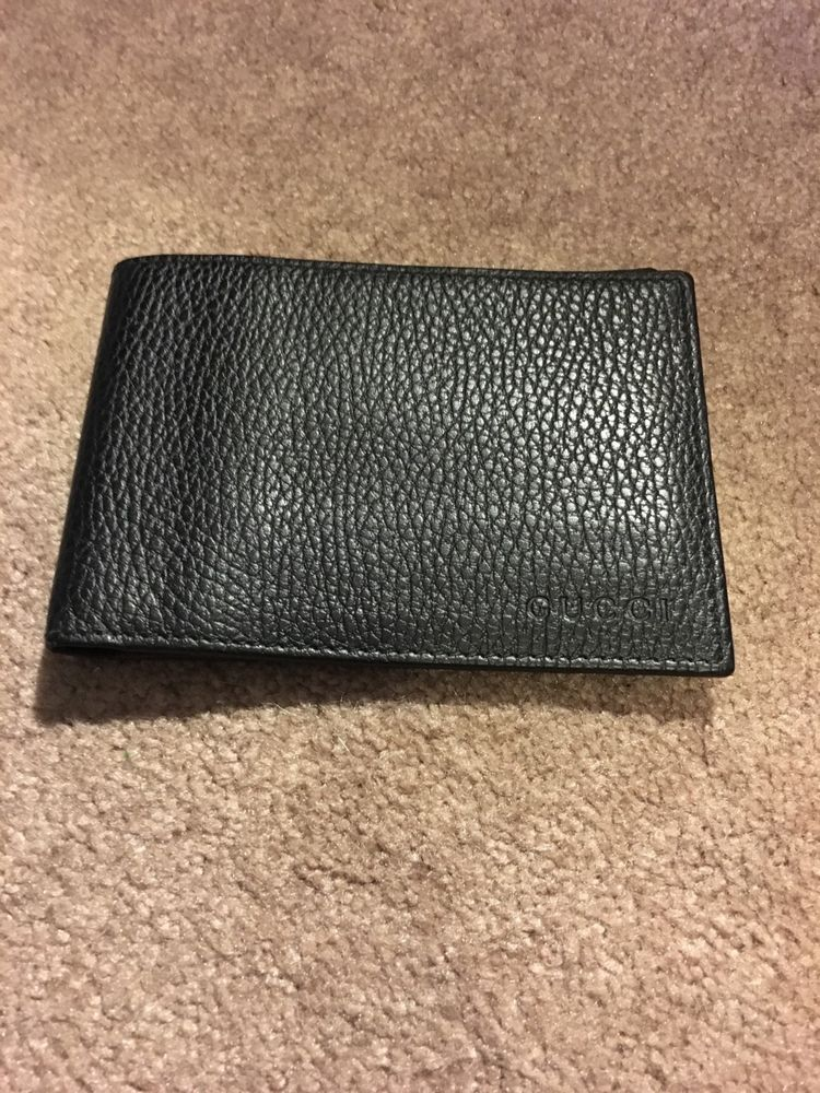 a09c5a8d86b0be gucci wallet men used black #fashion #clothing #shoes #accessories # mensaccessories #