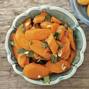 Moroccan Carrots | MyRecipes.com