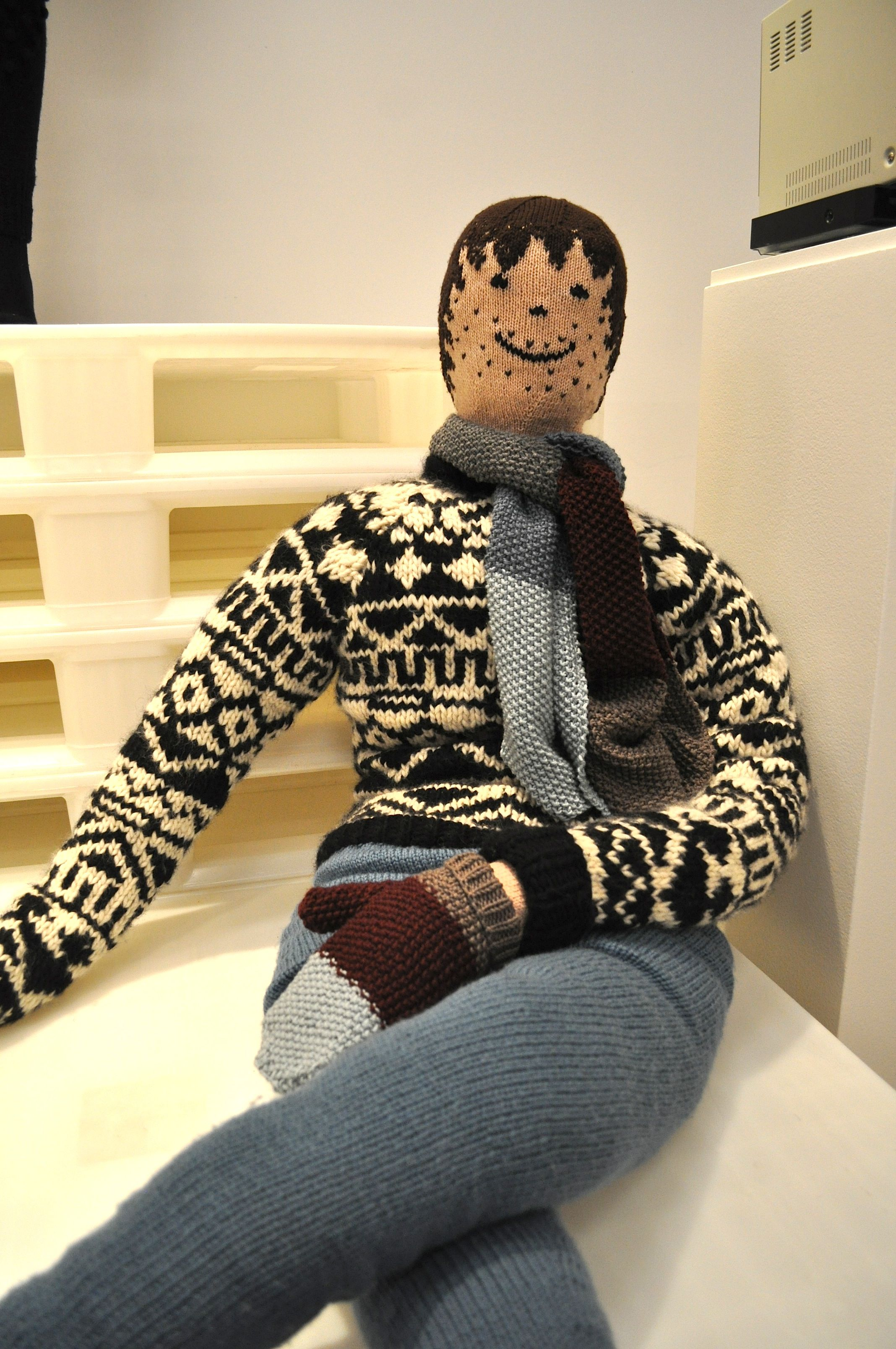 My Knitted Boyfriend  http://brankopopovic.blogspot.nl/2012/11/21-wool-masters-and-opening-wool-week.html