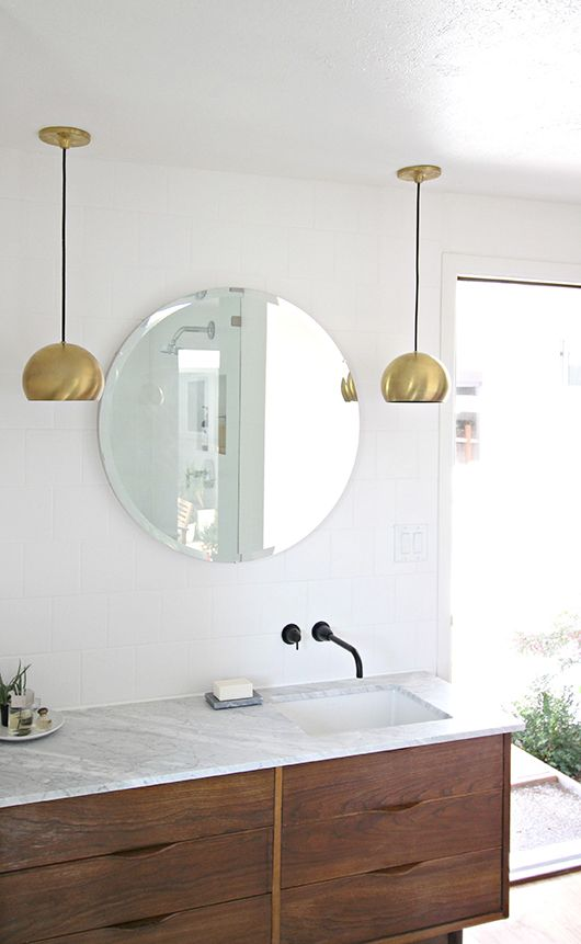 A Bathroom is Reborn / sfgirlbybay Mid Century Modern House