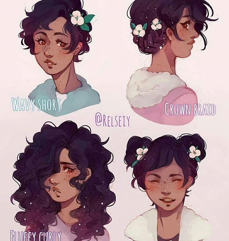 Pin By Ellipsis On Animes Art Style How To Draw Hair Short Hair