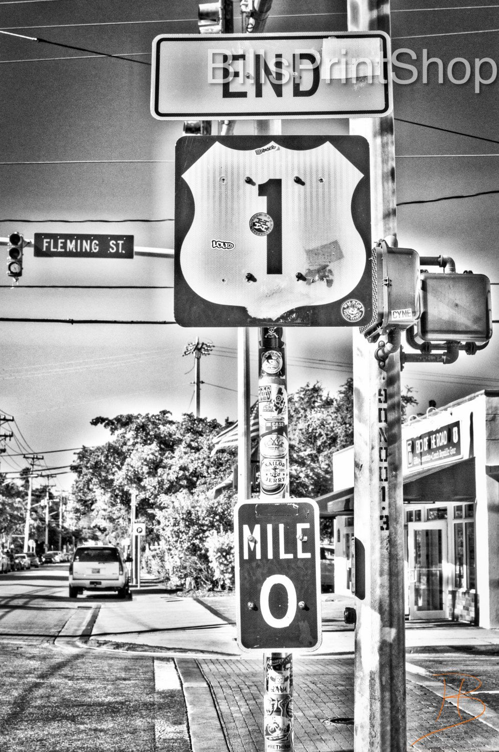 End of the road key west florida street destination music