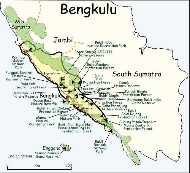 Colorado Bengkulu: Sumatra-Bengkulu Nature Reserves