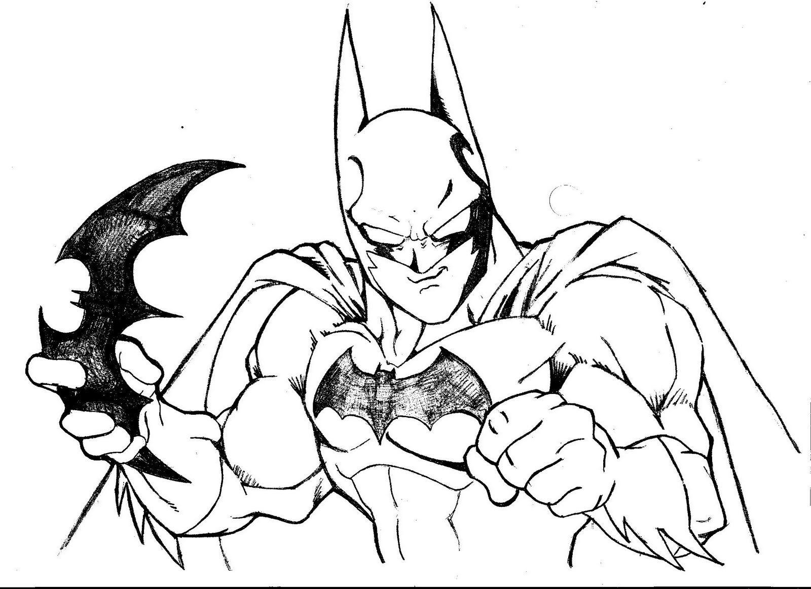 Y si Toriyama dibujara a Batman - Fan-Art - Dibujo - DC | Batman fan ...