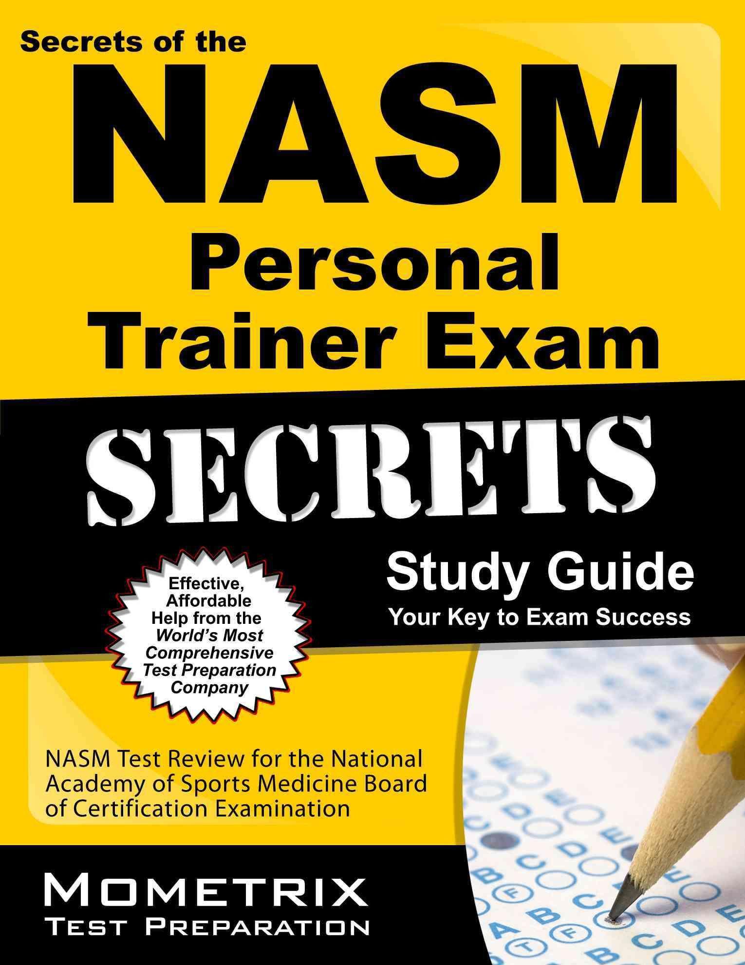Secrets of the nasm personal trainer exam nasm test review for secrets of the nasm personal trainer exam nasm test review for the national academy of 1betcityfo Choice Image