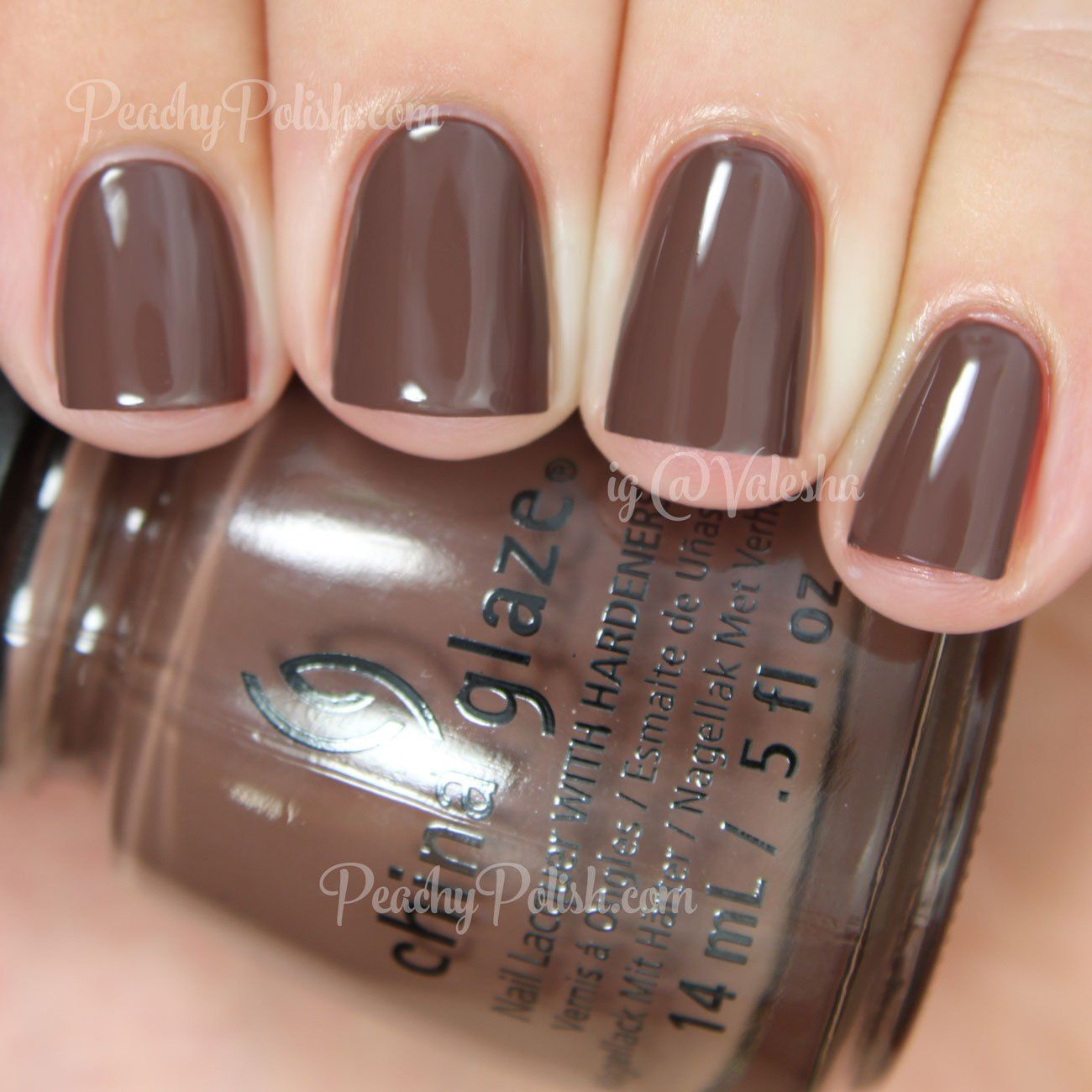 China Glaze Community   The Giver Collection   Peachy Polish