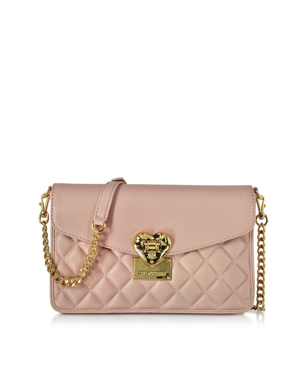 b7f203fc91db Women's Pink Quilted Medium Shoulder Bag | Bags | Quilted shoulder ...