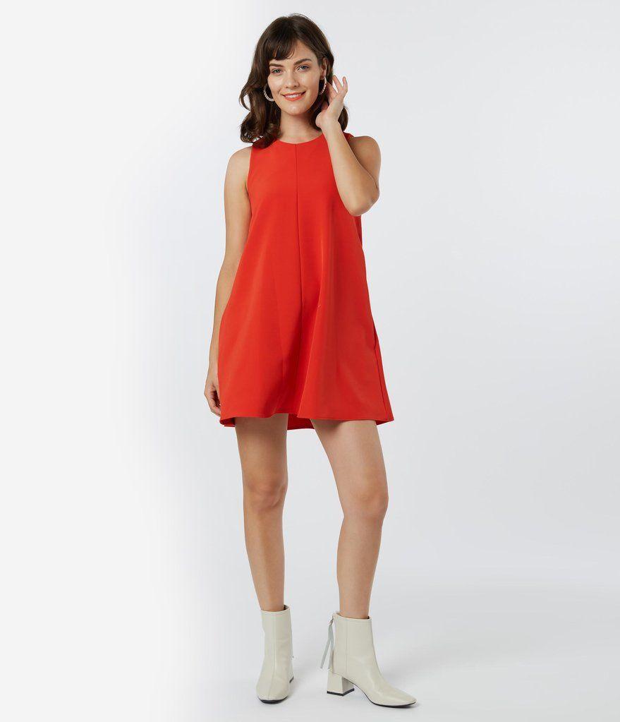 1960s Style Burnt Orange Shift Dress Unique Vintage 1960s Fashion Shift Dress Fashion Trending Moodboard [ 1023 x 879 Pixel ]