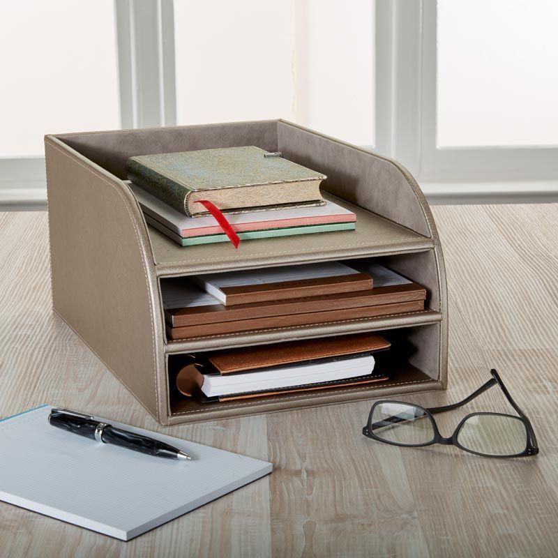 organized office space. Modern Desk Organizer To Uplift Your Office Space #Organize #Office #Desk #Levenger Organized A
