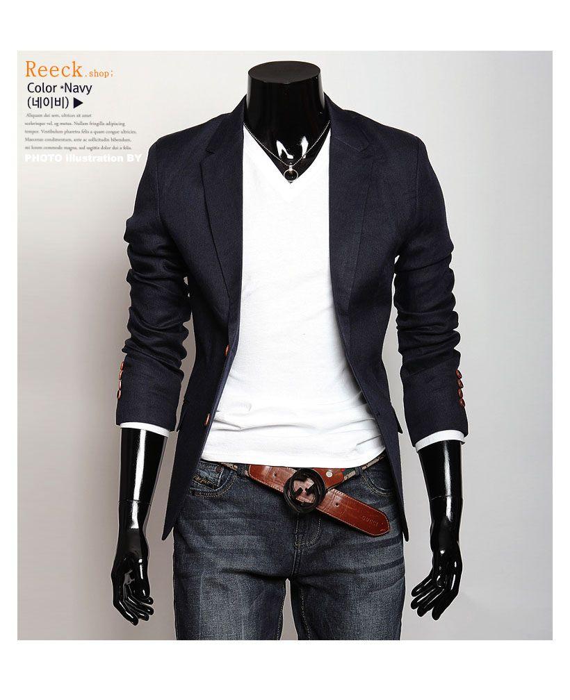 Mens jacket casual - Blazer Men Casual
