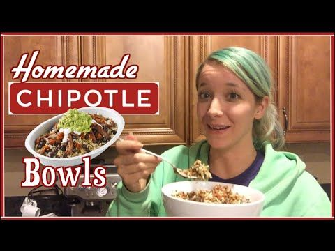 J J S Kitchen Homemade Chipotle Bowls Rice Lime Cilantro