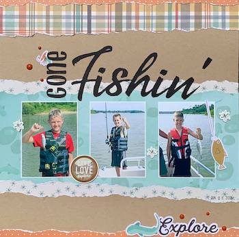 Fishing Camping Sticker Sheets Lot of 2 Fish Camp BBQ Recreation Outdoors