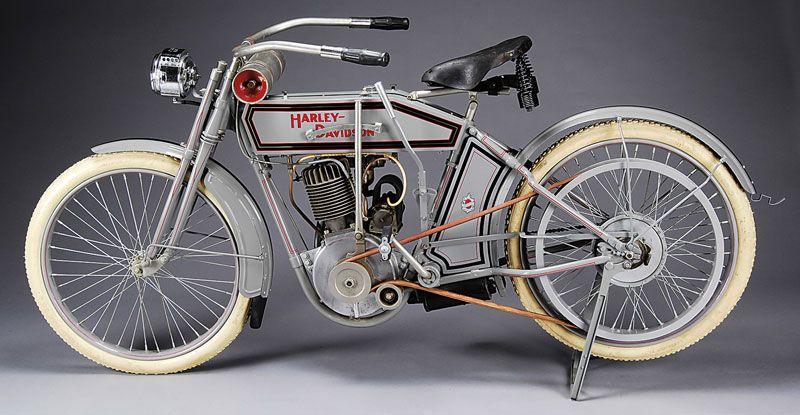 Harley Davidson 1912 Silent Grey Fellow Motorcycle Harley Harley Davidson Model Harley Davidson Bikes
